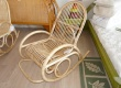 Meuble en rotin - Rocking chair - en rotin